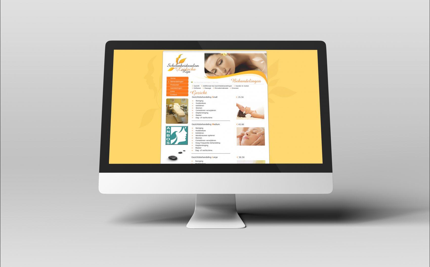 Web site Schoonheidssalon