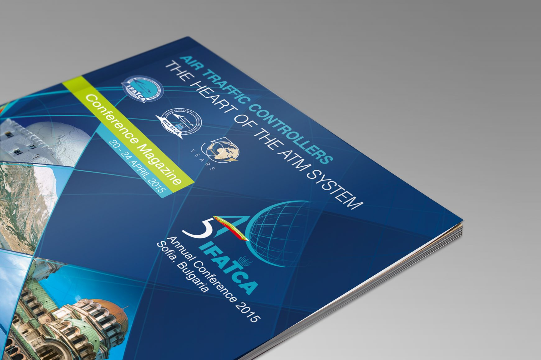 Conference Magazine Branding IFATCA