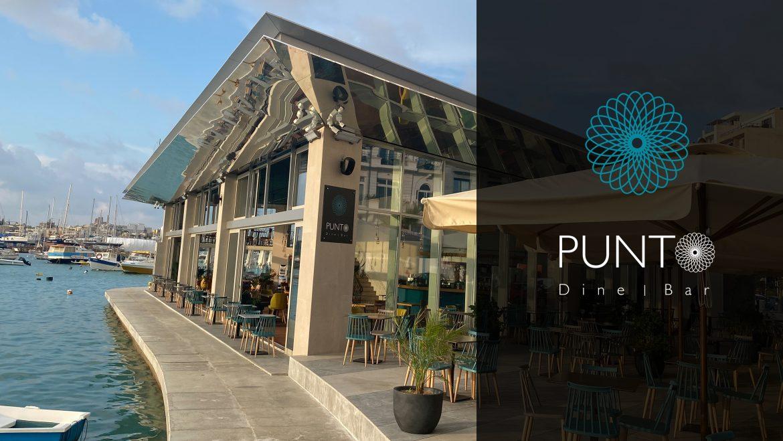 Punto Restaurant Malta Logo Design